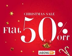 Jabong Christmas Sale - Flat 50% off