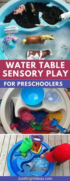 12 Sensory Water Table Activities for Preschoolers to Enjoy Weve got 12 super fun water table activities for preschoolers and toddlers that can be enjoyed indoors and outside. These activities are great sensory play ideas for autistic children too! Autistic Toddler, Activities For Autistic Children, Autism Activities, Games For Toddlers, Toddler Play, Infant Activities, Water Play Activities, Water Games, Summer Activities