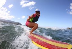 Make-A-Wish® Hawaii: Bethany Hamilton brings Soul Surfing to a whole new level Famous Surfers, Bethany Hamilton, Professional Surfers, Soul Surfer, Visit Hawaii, I Know The Plans, Body Warmer, Surfs Up, Make A Wish