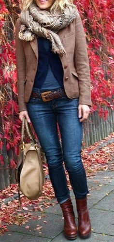 #fall #fashion / layers