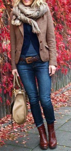 fall fashion layers