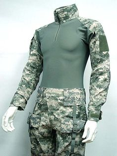 94.99$  Watch now - http://aliy2h.worldwells.pw/go.php?t=607429271 - Combat Shirt&Pants Digital ACU Camo w/Elbow Knee Pad 94.99$