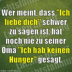 Liebe und Hunger
