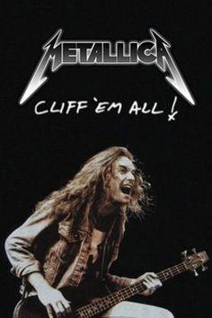 Cliff ´Em All ! Hard Rock, Rock Music, My Music, Woodstock, Learn Guitar Chords, Guitar Tabs, Cliff Burton, Halestorm, We Will Rock You