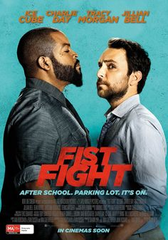 Fist Fight Movies Showing, Movies And Tv Shows, Fight Movies, Good Comedy Movies, Charlie Day, Hd Movies Online, Movies To Watch Free, Tv Shows Online, Streaming Movies