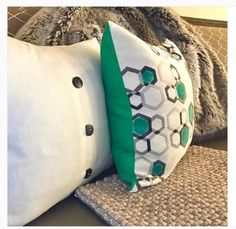 40% off SALE! HAPPY ST PATRICKS DAY SALE!!!  It's your lucky day!  Save 40% on Geo Honeycomb pillow with online coupon code: ILOVEGREEN. Hurry because offer expires Friday, March 17 @ 11:59pm (PST) www.tiffanyleeanndesign.com/shop