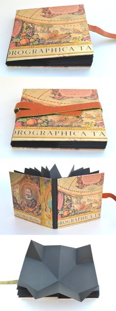 Another fun homemade folded paper book.