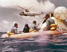Apollo 12 Pacific Recovery, via NASA Goddard Flight Center