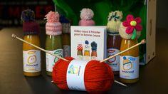 Tricoter pour la bonne cause avec Innocent ! --- Article by Catarinette on www.catarinette.com