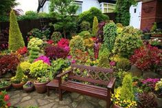 Flower Beautiful House in the World Four Seasons Garden The most