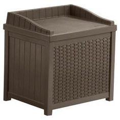 Westin Deck Storage Chair in Brown 33.99