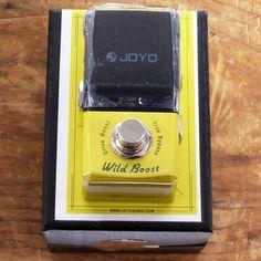 Joyo Wild Boost Drive Boost | Available at Garrett Park Guitars | www.gpguitars.com