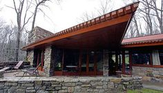The Reisley house, by Frank Lloyd Wright.: