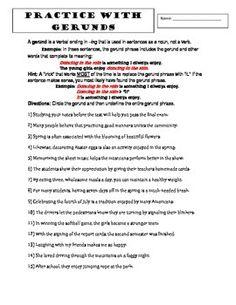 Grammar Test 30 Question On Verbals Gerunds Infinitives