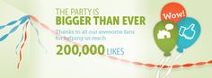 """Announcing the winners of our """"200,000 Likes Facebook Sweepstakes!"""""""
