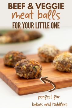 Oven-baked beef meatball recipe, healthy for the family with added vegetables, perfect for family dinners and baby-led weaning   #babyledweaning #familyrecipe #meatball