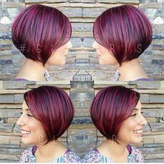 TRÈS POPULAIRE: 18 coupes de cheveux courts à la mode … photos avant / côté / arrière !!