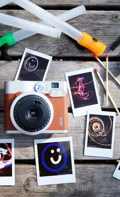 LIGHT PAINTING WITH INSTAX - Light up your world with this awesome technique!