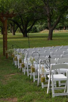Cute outdoor wedding in the Pecan Orchard  www.mdresort.com