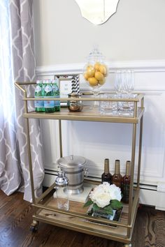 Threshold Bar Cart from #Target