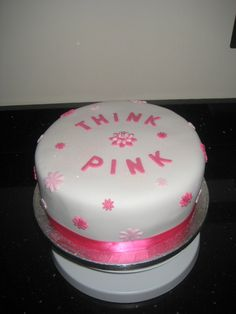 Think Pink for Breast Cancer x