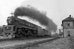 Streamlined locomotives, streamliner aerodynamic ...