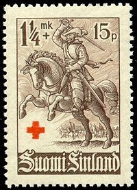 The hakkapeliitta-style cavalry was first used during the Polish-Swedish Wars of the late 16th century. In the early 17th century the cavalry led by the Field Marshal Jacob De la Gardie participated in campaigns against Poland and Russia. The Hakkapeliitta cavalry men led by Field Marshal Gustaf Horn were vital to the Swedish victories in Germany during the Thirty Years' War, 1618-1648.  The Finnish military march Hakkapeliittain Marssi is named after hakkapeliittas.