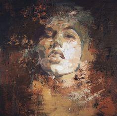 """Saatchi Online Artist: Yuriy Ibragimov; Encaustic Wax, 2012, Painting """"Awaken"""""""