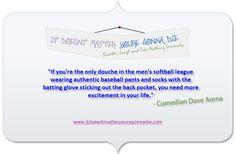 Today's Inspiration-Men's Softball