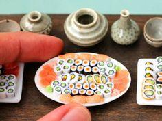 El arte conceptual llega a tu comida favorita   La idea de una pieza de sushi hecha de un solo grano de arroz de entrada puede parecer absur...