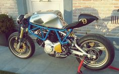 Ducati SS 900 Cafe Racer by @bp_caferacer #motorcycles #caferacer #motos   caferacerpasion.com