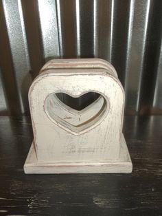 Check out this item in my Etsy shop https://www.etsy.com/listing/498189494/napkin-holder-vintage-shabby-chic-wood