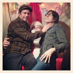 Jason white, Jeff Matika, Santa haha I love this!