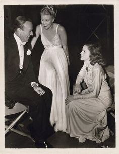 Fred Astaire, Jean Rogers and Judy Garland