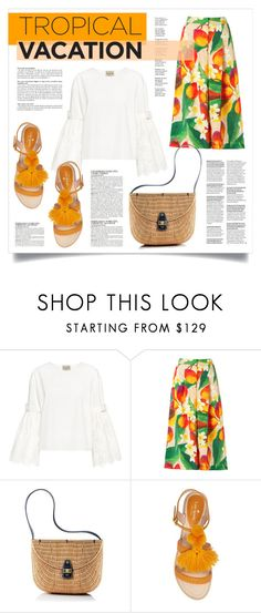 """""""TROPICAL VAC"""" by virgamaleva ❤ liked on Polyvore featuring Sea, New York, Isolda, Mark & Graham, Kate Spade and McGinn"""