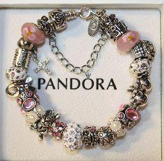 Gotta have on Ebay...Pink Easter on Authentic Pandora Bracelet