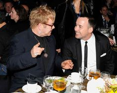 Elton John and David Furnish have been together since 1993 and married since 2004.