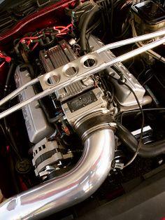 1991 Chevrolet Camaro Z28 Engine View