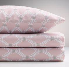 European Crown Lattice Flannel Standard Pillowcase