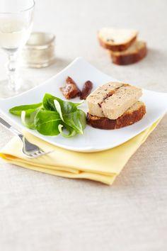 Terrine de foie gras farci aux figues