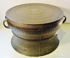 tambor de lluvia en bronce. sur de china, laos - Comprar Arte Étnico Antiguo Asia en todocoleccion - 58142913