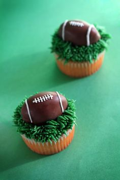 ...wife of a football player...might need to make some cute sweet treats.