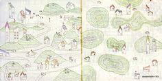 Junya Ishigami: sketches from 'plants & architecture' 1998, Biennale di Venezia