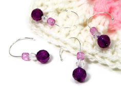 Removable Stitch Markers Set Crochet Snag Free by TJBdesigns, $6.00