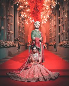 So Here is the much awaited wedding film of our sweethearts K + M , their pictur. Indian Wedding Poses, Indian Bridal Photos, Indian Wedding Photography Poses, Indian Weddings, Indian Bride Poses, Bride Groom Poses, Indian Bride And Groom, Punjabi Wedding, Groom Attire