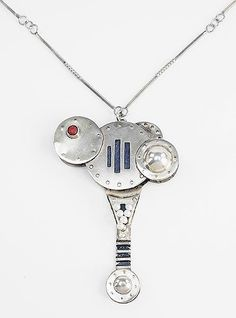 A Silver Necklace. Lot 165-7258