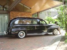 1947 Mercury Hearse