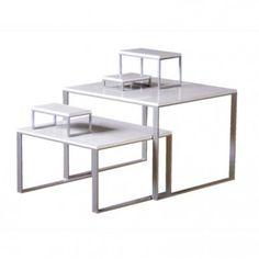 Beau Shiro Display Table And Riser Collection