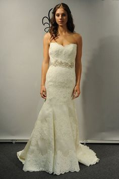Anne Barge Bridal Spring 2013- She Does Amazing Things With Lace!