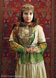 Azerbaijan national dress / folk costume